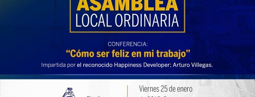 Invitación 1er Asamblea Local Ordinaria CIPM 2019