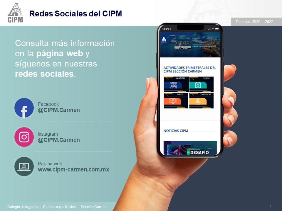 Redes @CIPM.Carmen