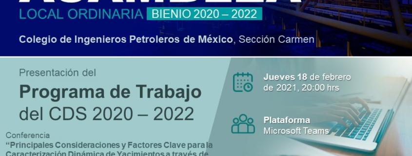 2.ª Asamblea Local Ordinaria del 2021